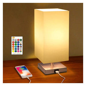Colour Changing Bedside Table Lamp