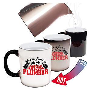 Colour Changing Plumber Mug