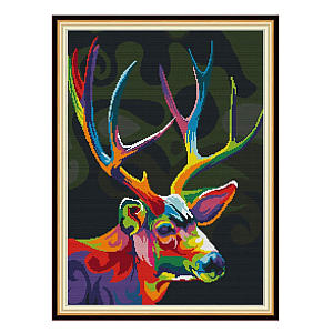 Colourful Deer Kit for Adults