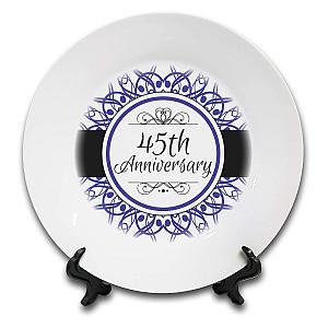 Commemorative Anniversary Plate