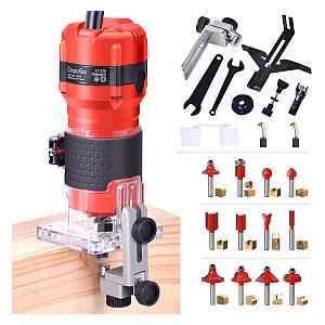 Compact Wood Palm Router