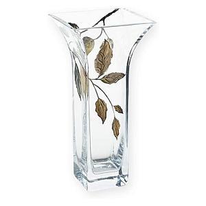 Contemporary Gold Leaf Vase