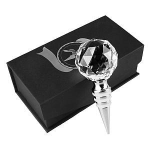 Crystal Diamond Wine Stopper