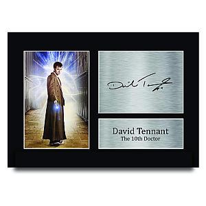 David Tennant Autographed Print