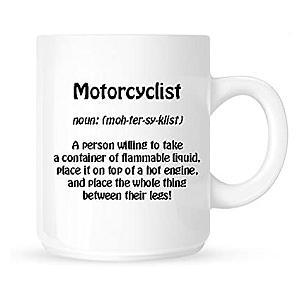 Definition of a Motorcyclist Mug