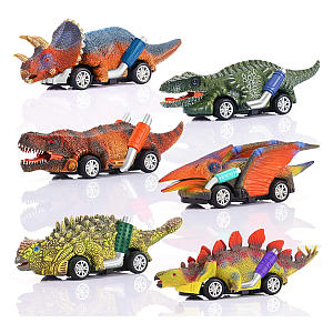 Dinosaur Pull Back Cars