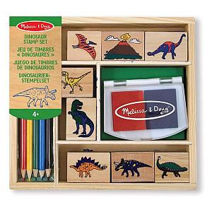Dinosaur Stamp Art Set