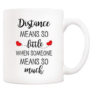 Distance Relationship Mug