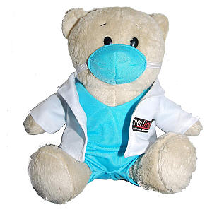 Doctor Bear With Scrubs