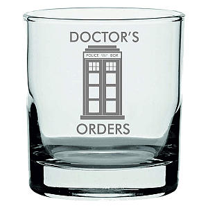 Doctor Who Inspired Whisky Glass