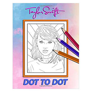 Dot to Dot Taylor Swift Drawing Book