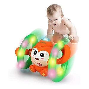 Early Education Roll & Glow Monkey Toy