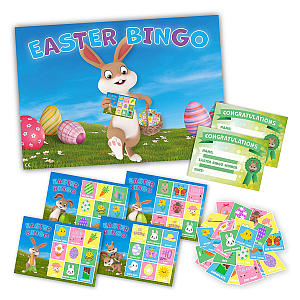 Easter Bingo Party Game
