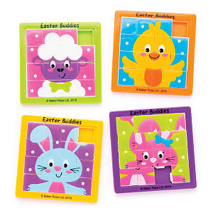 Easter Buddies Sliding Puzzles Pack