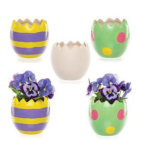 Easter Egg Plant Pot Set