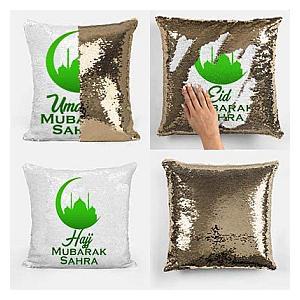 Eid Sequin Pillow