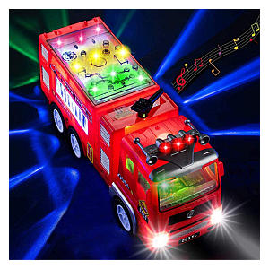 Electric Fire Truck Toy