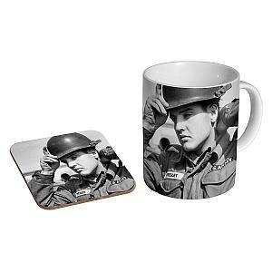 Elvis Army Mug and Coaster