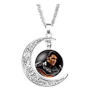 Elvis Moon Pendant