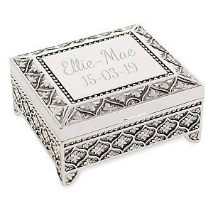 Engraved Jewellery Box