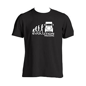 Evolution Lorry Driver T-Shirt
