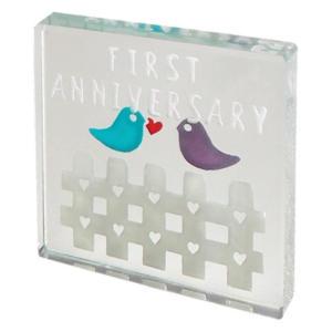 First Anniversary Bird Mini Token