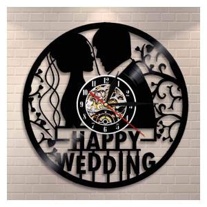 First Anniversary Custom Vinyl Clock