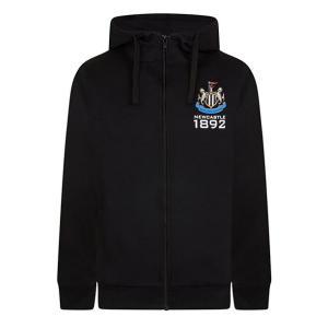 Fleece Zip Up Newcastle Hoodie