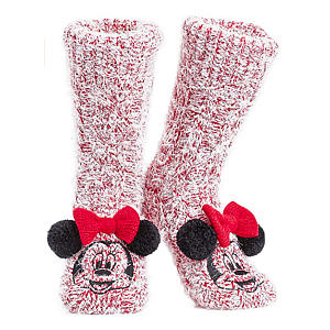 Fluffy Minnie Mouse Socks