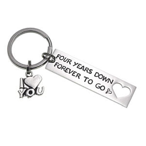 Four Years Down Keyring
