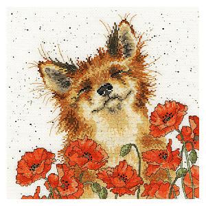 Fox in Poppy Field Kit