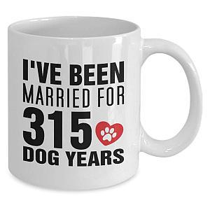 Funny 45 Years Married Mug