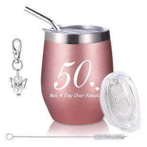 Funny 50th Portable Wine Tumbler