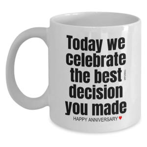 Funny Anniversary Mug