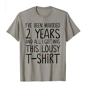 Funny Second Anniversary T-Shirt