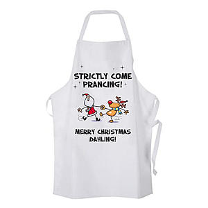 Funny Strictly Inspired Christmas Apron