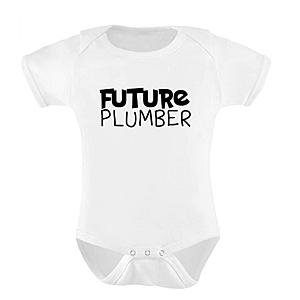 Future Plumber Baby Bodysuit