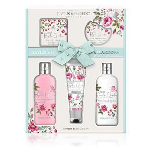 Garden Rose, Poppy & Vanilla Luxury Bathing Set