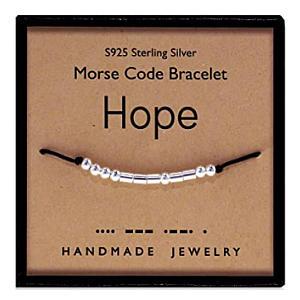 Get Well 'Hope' Morse Code Bracelet