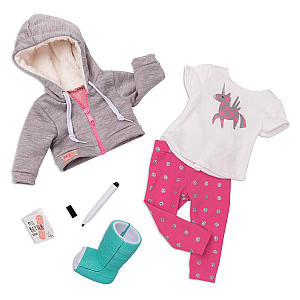 Get Well Soon Toy Accessories Outfit