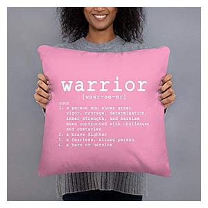 Get Well Warrior Cushion