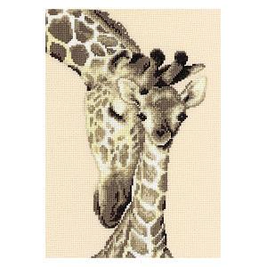 Giraffe Family Image Kit