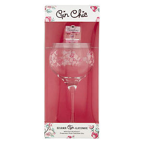 Gordon's Gin Chic Gift Including Decorated Glass