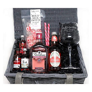 Gordon's Personalised Gift Hamper with Balloon Glass