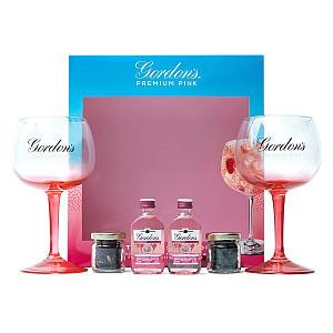 Gordon's Premium Pink Gin Gift Set