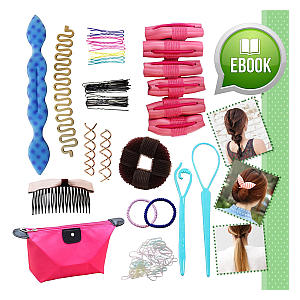 Hair Styling Make Over Accessories Kit