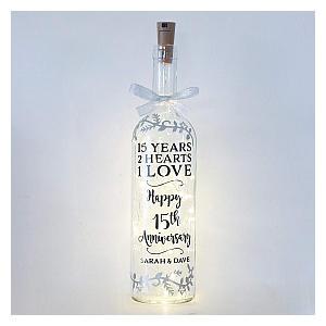 Handmade Bottle Light