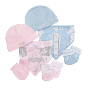 Hat and Gloves Twin Set