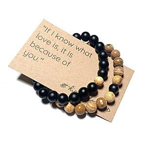 His N Her Beaded Bracelets