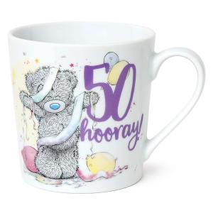 Hooray 50 Tatty Bear Mug